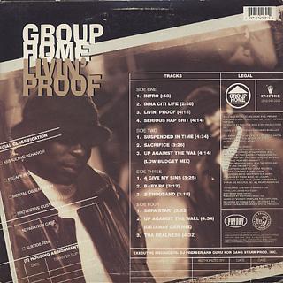 Group Home / Livin' Proof back