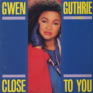 Gwen Guthrie / Close To You front
