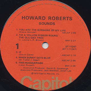 Howard Roberts / Sounds label