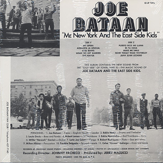 Joe Bataan / Mr. New York And The East Side Kids back
