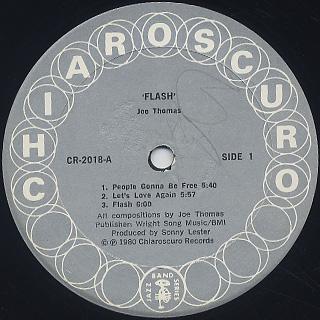 Joe Thomas / Flash label