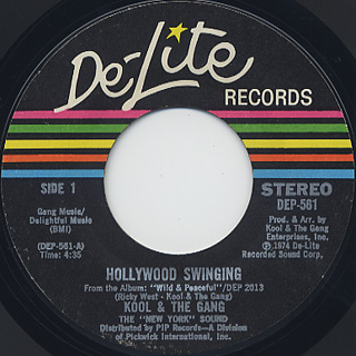 Kool and The Gang / Hollywood Swinging c/w Dujii