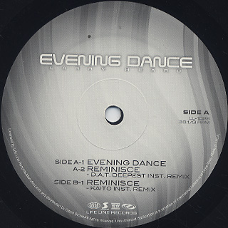 Larry Heard / Evening Dance label