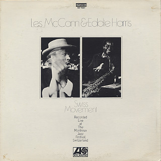 Les McCann & Eddie Harris / Swiss Movement
