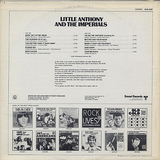 Little Anthony And The Imperials / Little Anthony And The Imperials back