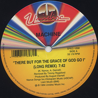 Machine / There But For The Grace Of God Go I back