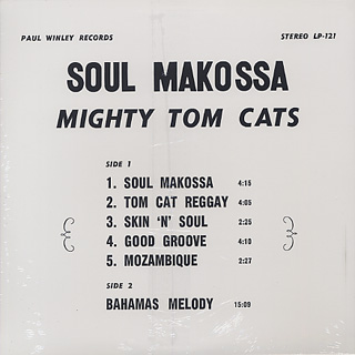 Mighty Tom Cats / Soul Makossa back