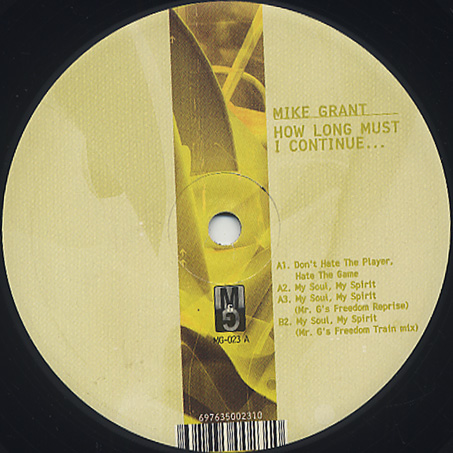 Mike Grant / How Long Must I Continue...