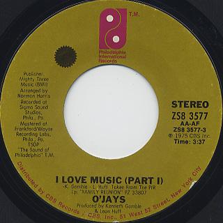 O'Jays / I Love Music