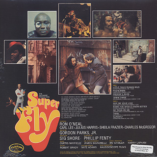 O.S.T. (Curtis Mayfield) / Super Fly back