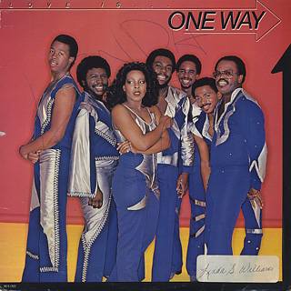 One Way / Love Is... front