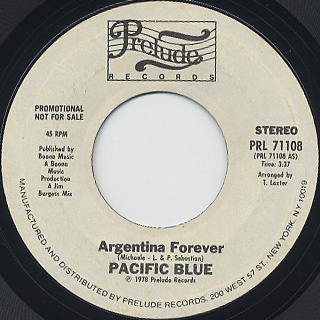 Pacific Blue / Argentina Forever