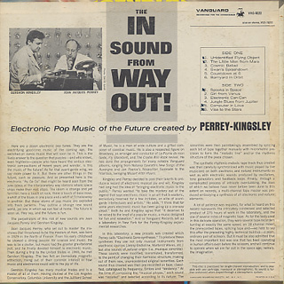 Perrey - Kingsley / The In Sound From Way Out! back