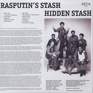 Rasputin's Stash / Hidden Stash back