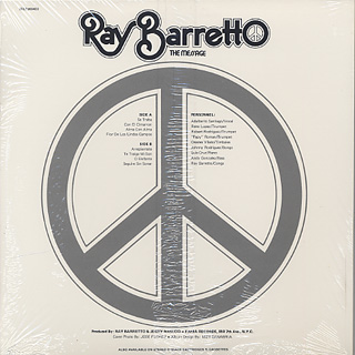 Ray Barretto / The Message back