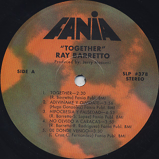 Ray Barretto / Together label