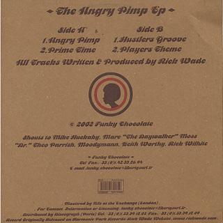 Rick Wade / The Angry Pimp EP back