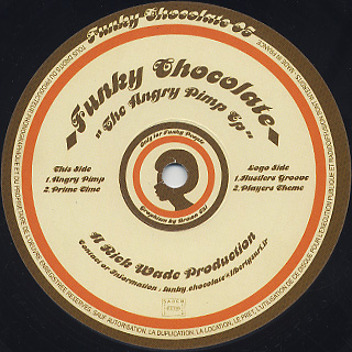 Rick Wade / The Angry Pimp EP label