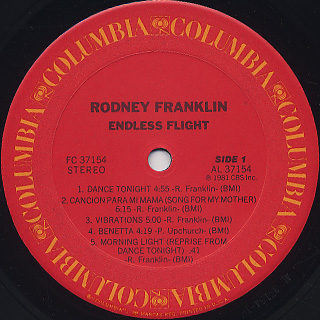 Rodney Franklin / Endless Flight label