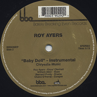 Roy Ayers / Baby Doll label