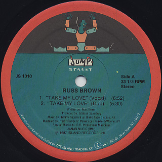 Russ Brown / Take My Love back