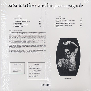 Sabu Martinez And His Jazz-Espagnole / Sabu's Jazz Espagnole back