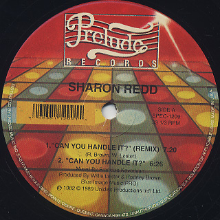 Sharon Redd Can You Handle It Special Remixed Version
