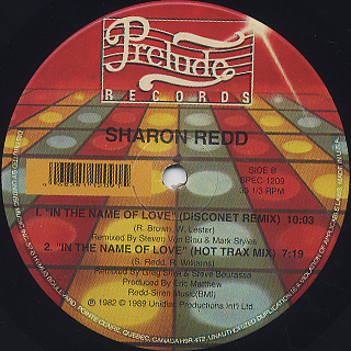 Sharon Redd / Can You Handle It? label