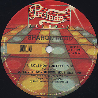 Sharon Redd / Love How You Feel c/w You Got My Love back