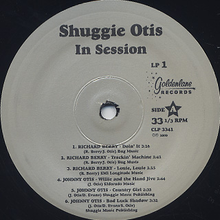 Shuggie Otis / In Session label