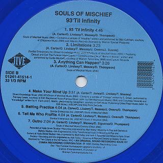 Souls Of Mischief / 93 'Til Infinity back