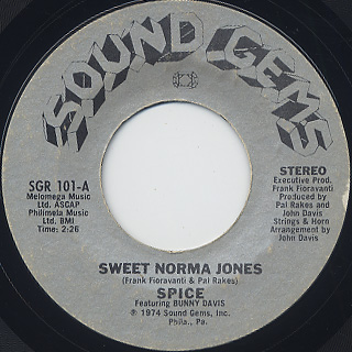 Spice Featuring Bunny Davis / Sweet Norma Jones