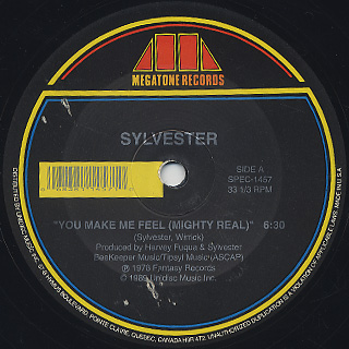 Sylvester / You Make Me Feel (Mighty Real) c/w Body Strong back