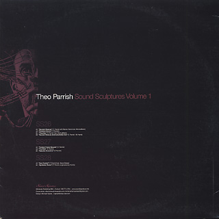Theo Parrish / Sound Sculptures Volume 1 back