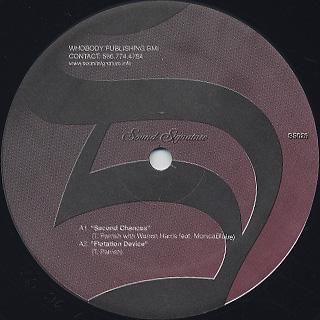Theo Parrish / Sound Sculptures Volume 1 label