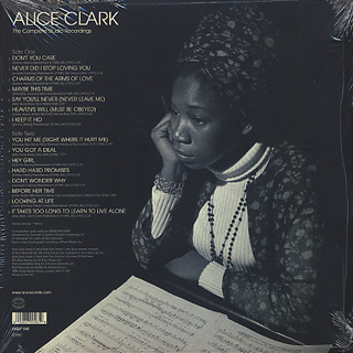 Alice Clark / The Complete Studio Recordings back