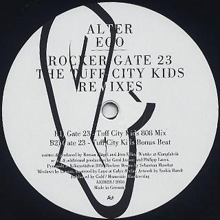 Alter Ego / Rocker c/w Gate 23 back