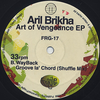 Aril Brikha / Art Of Vengeance EP back