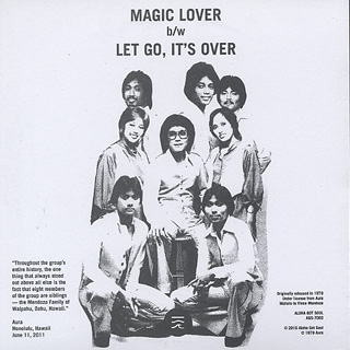 Aura / Magic Lover back