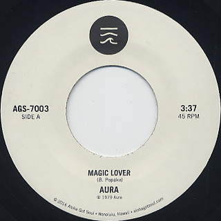 Aura / Magic Lover label