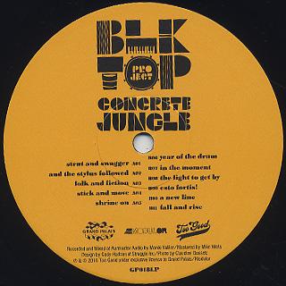 BLKTOP Project / Concrete Jungle label