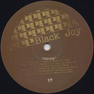 Black Joy / Untitled c/w Paloma label