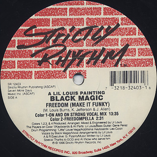 Black Magic / Freedom (Make It Funky)