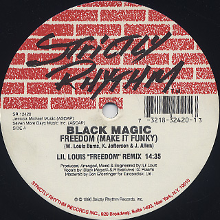 Black Magic / Freedom (Make It Funky) (The Remixes) front