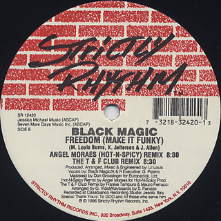 Black Magic / Freedom (Make It Funky) (The Remixes) back