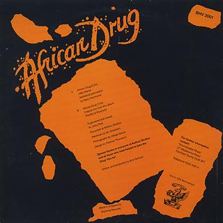 Bob Holroyd / African Drug back