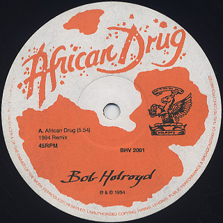 Bob Holroyd / African Drug label