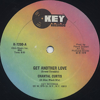 Chantal Curtis / Get Another Love back