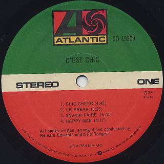 Chic / C'est Chic label