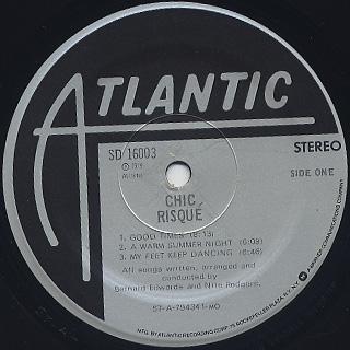 Chic / Risque label
